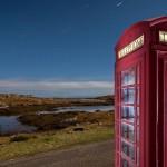 John Maher, Moonlit phone box, Harris
